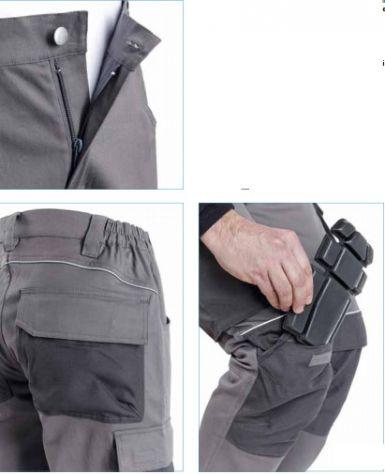 Pantaloni da Lavoro multitasche Elasticizzati (stretch) - Foto 2