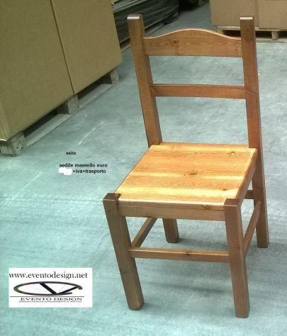 Sedia particolare struttura in legno massello, Ingrosso sedie.