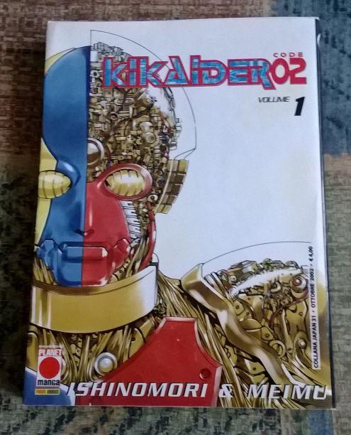 Kikaider Code02 - Vol.1