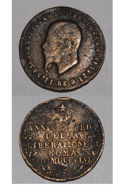 MEDAGLIA ITALIA REGNO RE UMBERTO I 1895