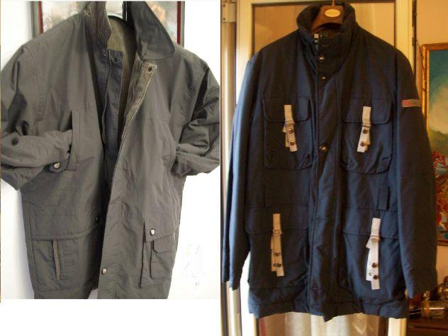Giubbotto giaccone giacca a vento anke double face