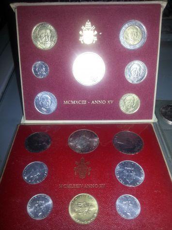 52 MONETE:6 D'ARGENTO MASSICCIO,FIOR DI CONIO,7 SERIE DIVISIONALI,VATICANO E SAN - Foto 7