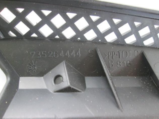 735277580 GRIGLIA PARAURTI ANTERIORE LATO SINISTRO FIAT PUNTO 1.9 D 63KW 3  … - Foto 3