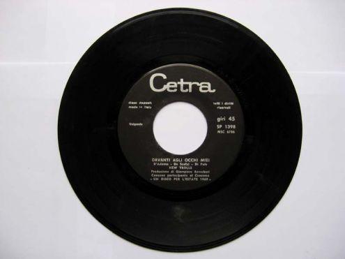 Vinile 45 giri del 1969-New Trolls-davanti agli occhi miei - Foto 2