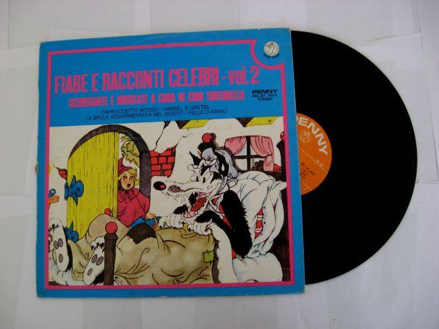 Vinile 33 giri originale del 1976 – FIABE E RACCONTI CELEBRI – vol.2