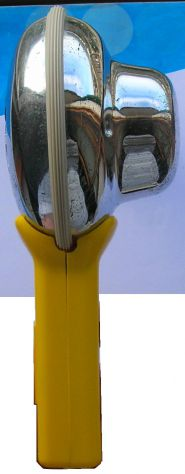 Asciugacapelli Sicer mod 25 Impugnatura in plastica e corpo in metallo. Due velo - Foto 5