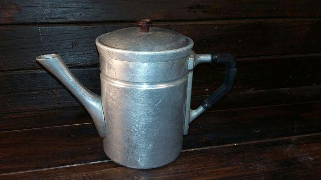 C39 alluminio vecchio bricco  scaldacaffe' 8 tazze
