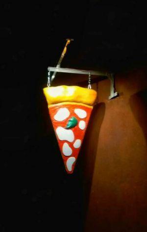 Insegna Pizza a bandiera: - Luminosa a TORINO - Foto 4