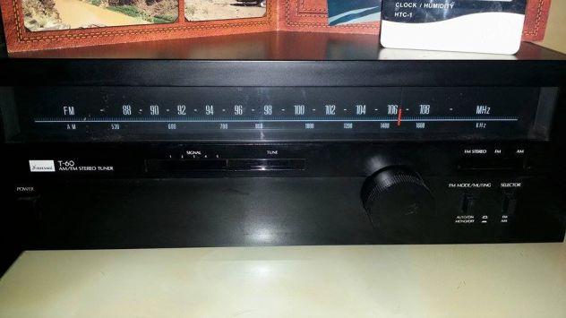 Sansui T-60 tuner AM-FM stereo nero (LEGGERE TESTO)
