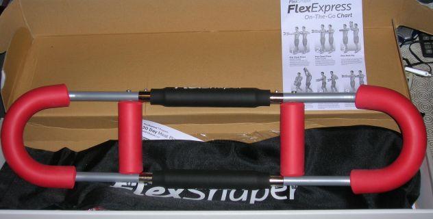 Flex Shaper Attrezzo Da Palestra Addominali Muscoli Fitness Bicipiti Tricipidi - Foto 2