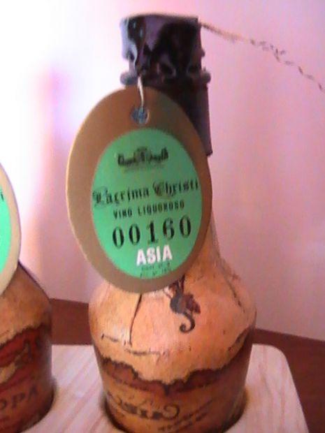 Mignonettes numerate di vino serie