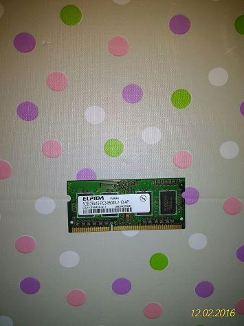 Ram (sodimm DDR2) -  3 banchi da 1 Gb
