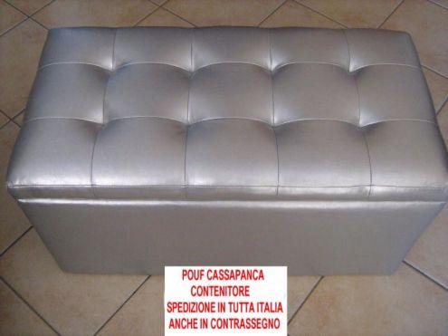 POUF CASSAPANCA CONTENITORE NUOVA - Foto 3