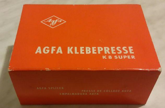 GIUNTATRICE AGFA K8 SUPER MADE IN GERMANY CON SCATOLA NUOVA - Foto 4