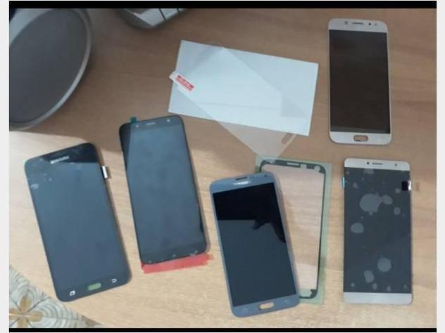 LCD DISPLAY J3 J5 J7 A3 A5 A7 A10 A20 A30 A40 NOTE Nuovo