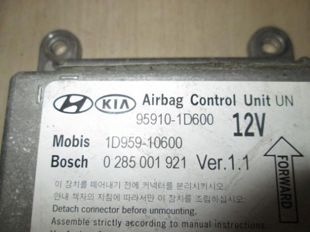 1D959-10600 KIT AIRBAG KIA CARENS 2.0 D AUT 103KW (2008) RICAMBIO USATO COM … - Foto 2