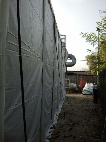 TENDONE TUNNEL PER DEPOSITO RIMESSAGGIO MAGAZZINO 8 X 24 Metri - Foto 6