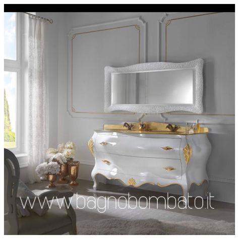 Mobile bagno stile barocco moderno massello top oro24k - Annunci Belluno