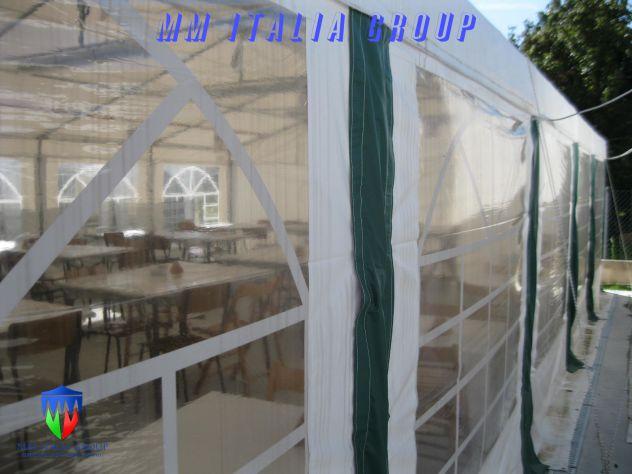Tendoni per Feste, per uso ristoranti, chiusure con Velcro 6 x 10 - Foto 2