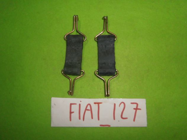 Tiranti sostegno marmitta centrale Fiat 127 1°s prima serie L C CL SPORT &q … - Foto 6