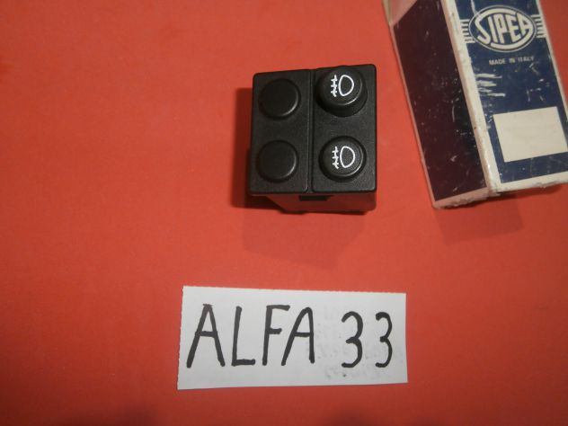 Interruttore pulsante retronebbia Alfa 33 SIPEA 0866