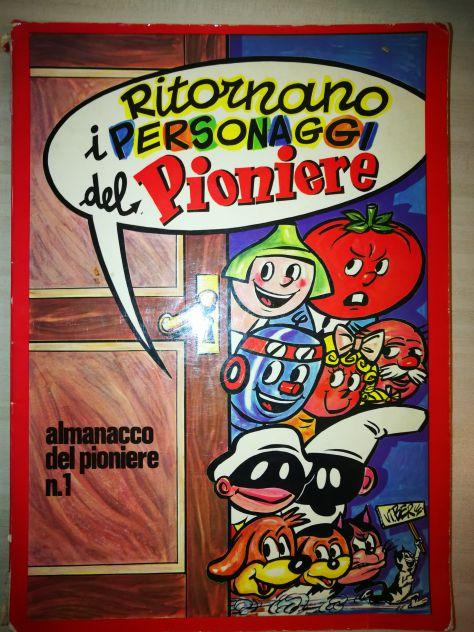Fumetto Almanacco del Pionere nr. 1 anno 1973