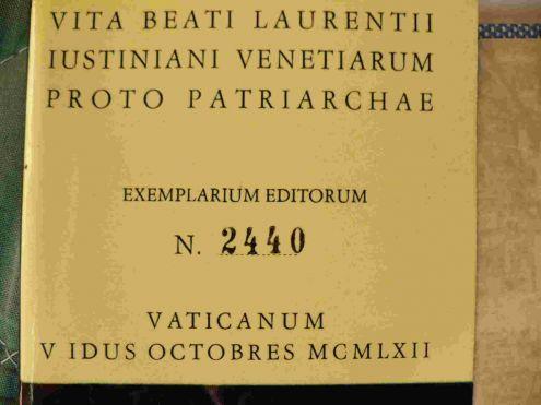 Vita di San Lorenzo Giustiniani primo patriarca di Venezia - Foto 2