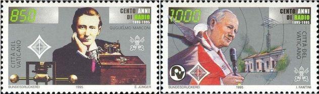 Francobolli nuovi annata 1995 Vaticano - Foto 3