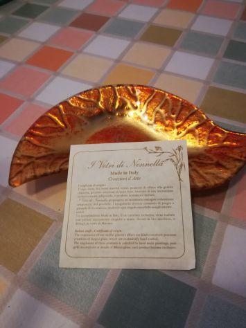 Posacenere/portaoggetti in vetro di Murano - Foto 2