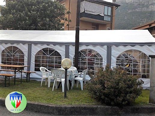 Tendoni per Eventi e Feste, in Pvc Ignifugo  5 x 10  MM italia - Foto 6