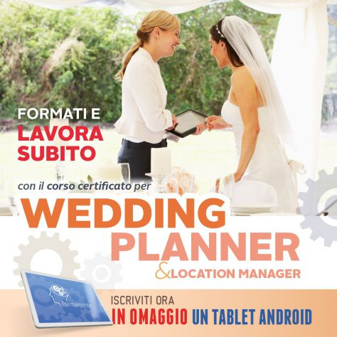 Corso per Wedding Planner & Location Manager