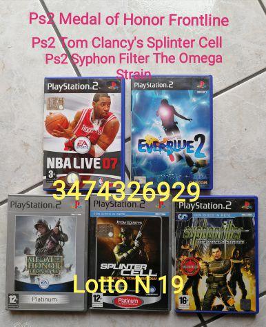GIOCHI PS2 NBA  Live 07