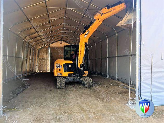 Tendoni Tunnel per Stoccaggio merci, cereali, agricoltura,Edilizia - Foto 9