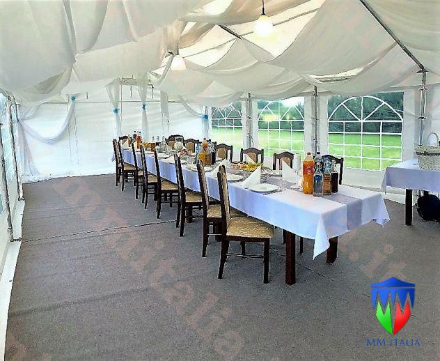 Tendoni per Feste, per uso ristoranti, chiusure con Velcro 6 x 10 - Foto 8
