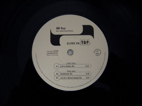 45 rpm (EP) originale del 1997-SM-Trax Sweet Pussy Pauline-Climb on TOP - Foto 3