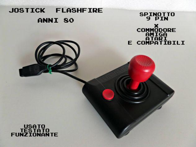 Joystick Flashfire per Amiga, Commodore (anni 80)