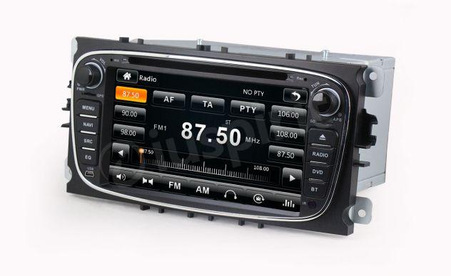 GPS DVD BT autoradio 2 DIN navigatore Ford Focus Mondeo C-Max Galaxy - Foto 10