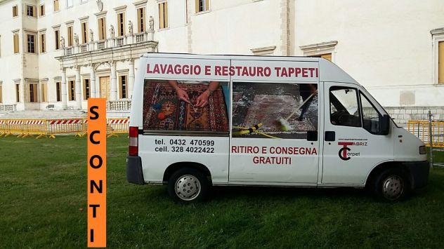 Pulizia tappeti Trieste, lavaggio e restauro tappeti persiani Trieste