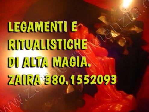 Zaira, MEDIUM, Legamenti d'Amore Indissolubili e PERMANENTI.380.1552093