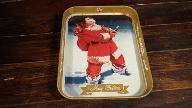 V172 vcassoio latta riuso Coca Cola Babbo Natale