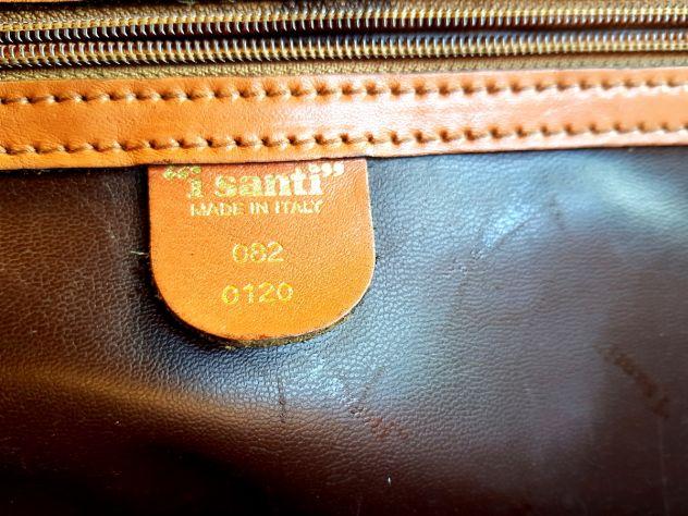 Esclusiva Borsa in pelle vintage I SANTI 1982 Annunci Torino