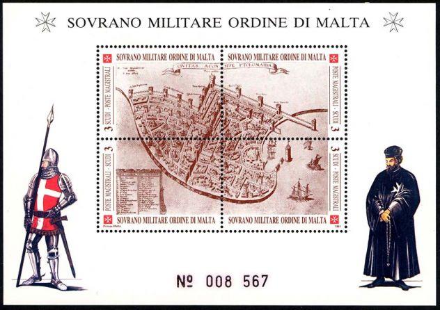 Francobolli nuovi annata 1991 S.M.O.M.