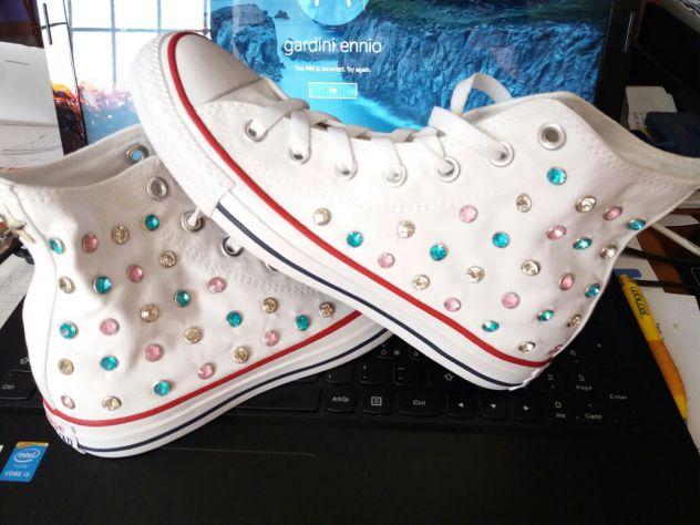 adidas con glitter scarpe