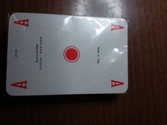 Mazzo di Carte 54 Modiano (misura leggermente più stretta)-  NUOVO - Sigillato - Foto 2