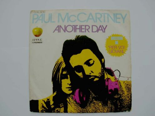 45 giri del 1974-Paul Mc Cartney-Another day