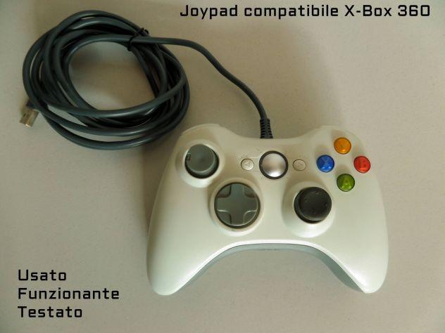 Joypad X box 360 con filo. (compatibile) funzionante.