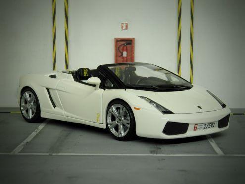 Modellino Lamborghini Gallardo Spider 1:18 Irriverent