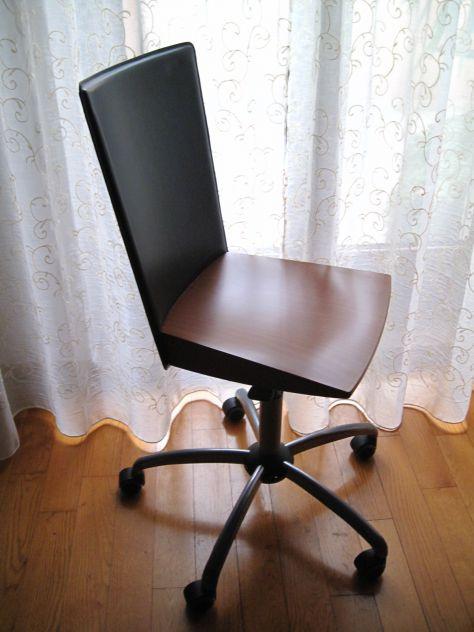 Sedia in legno e pelle - Foto 5