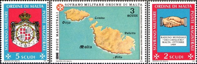 Francobolli nuovi annata 1989 S.M.O.M.