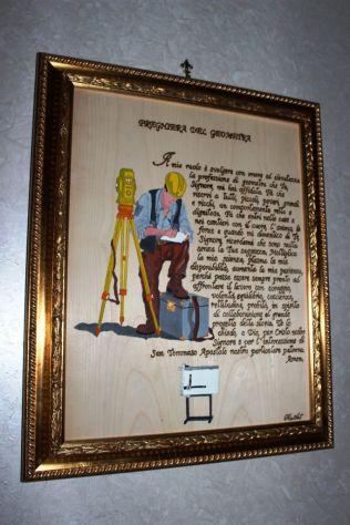 QUADRO CARABINIERI CON PREGHIERA, VIRGO FIDELIS - Foto 5